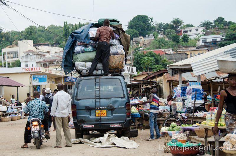 consejos para viajar a togo y benin transporte público