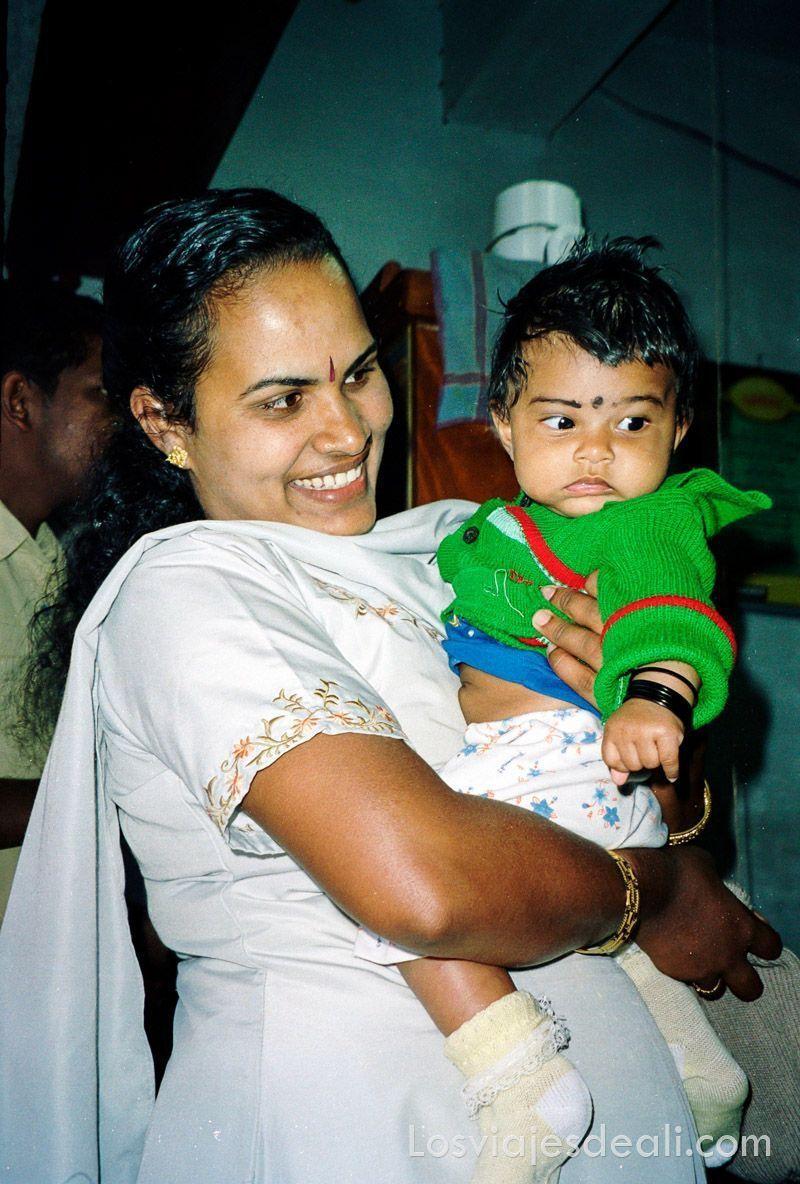 Gentes de Asia en India del sur