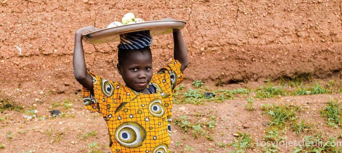 niña de Natitingou