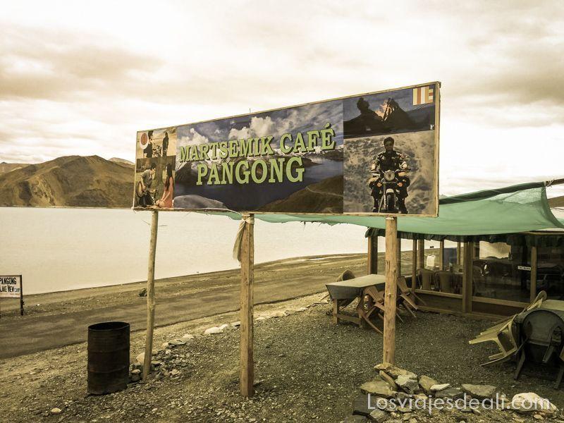 cartel cine en lago pangong