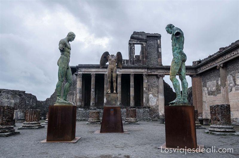 Pompeya libros para viajar a través de la Historia