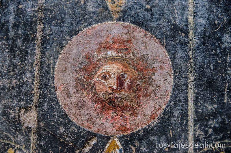 visita a Pompeya fresco