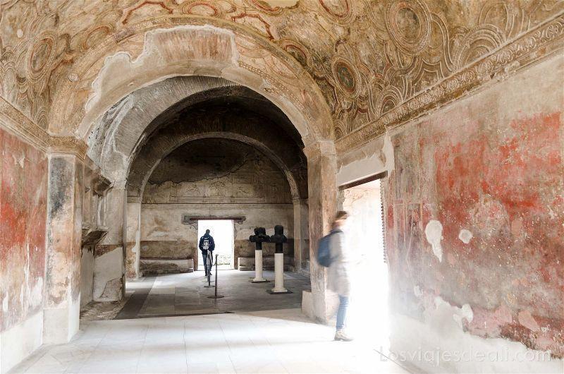 visita a Pompeya termas