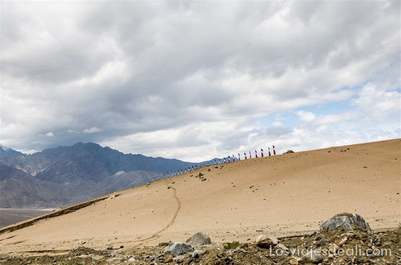 trekking cerca de Leh saboo