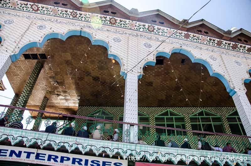 mezquita de kargil uno de los pueblos de cachemira