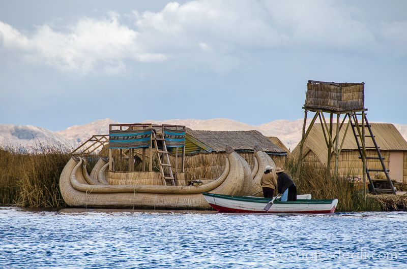 islas del lago titicaca islas de los uros