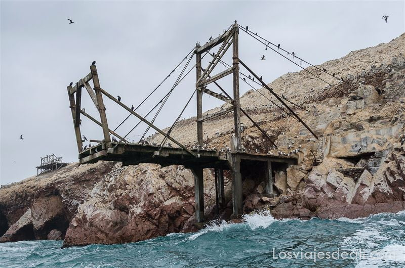 estación guano en islas ballestas