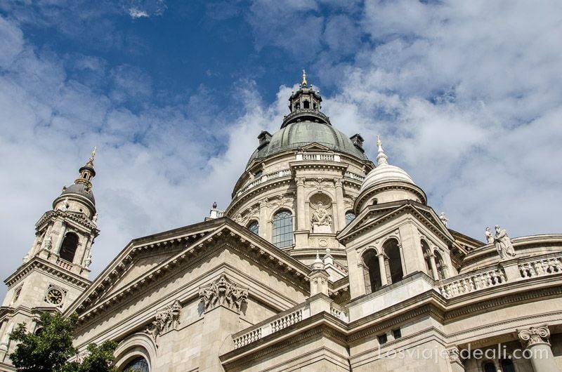 Budapest desde las alturas Basílica