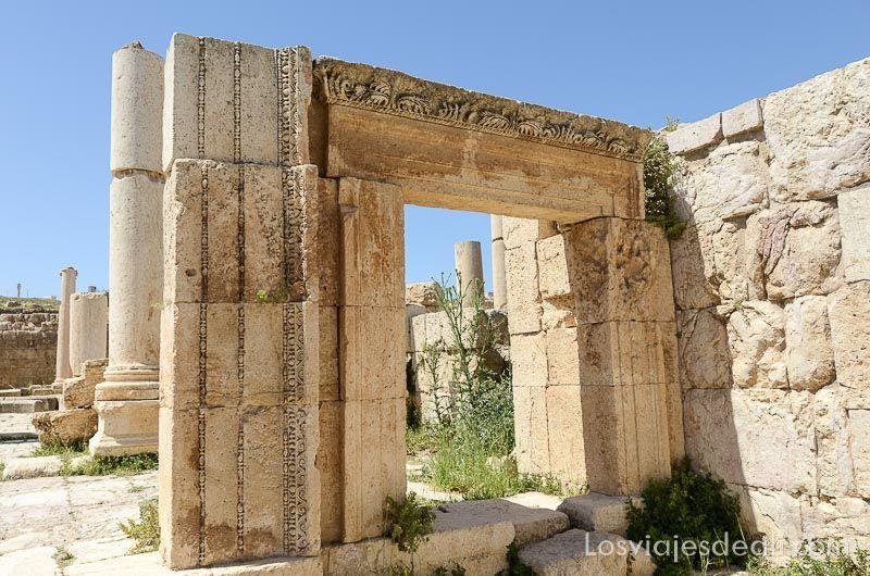 ruinas de jerash mercado