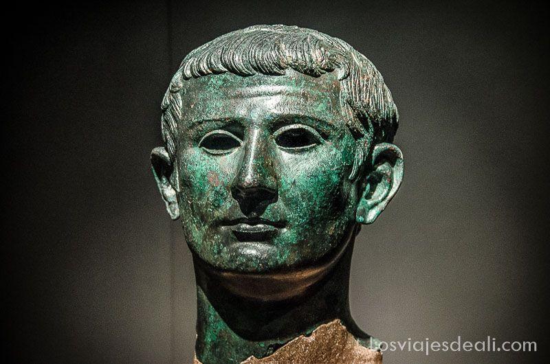 Museo Arqueologico Nacional de Madrid busto romano
