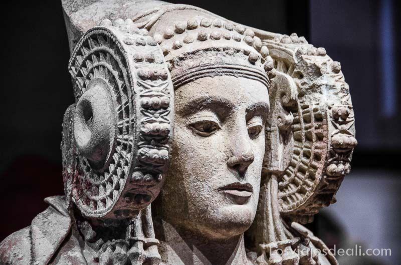 Museo Arqueologico Nacional de Madrid dama elche