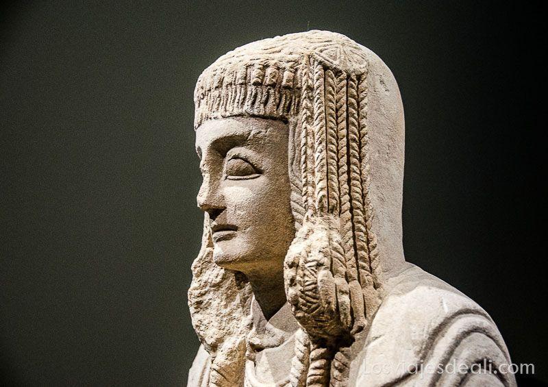Museo Arqueologico Nacional de Madrid dama