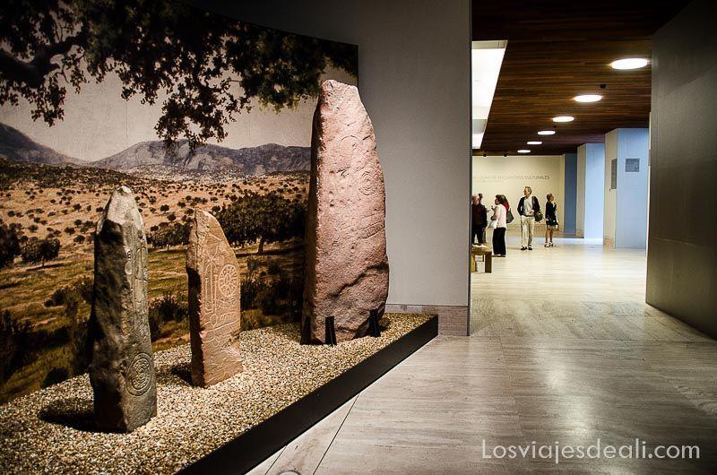 Museo Arqueologico Nacional de Madrid estelas