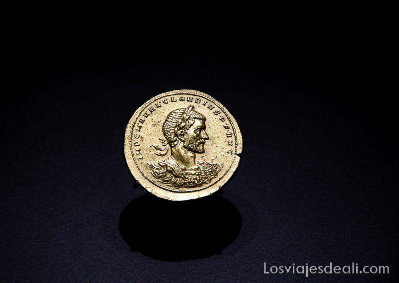 Museo Arqueologico Nacional de Madrid moneda romana