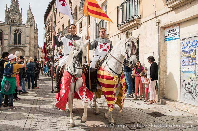 fin de semana cidiano desfile