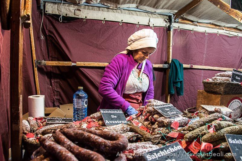 fin de semana cidiano mercado medieval