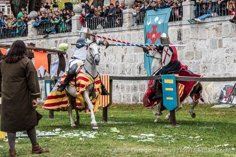 fin de semana cidiano torneo medieval