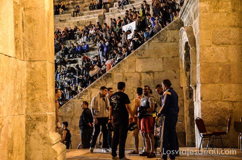Amman espectáculo en teatro romano