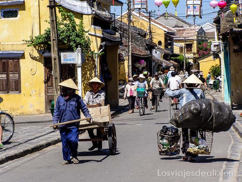 calle principal de Hoi An