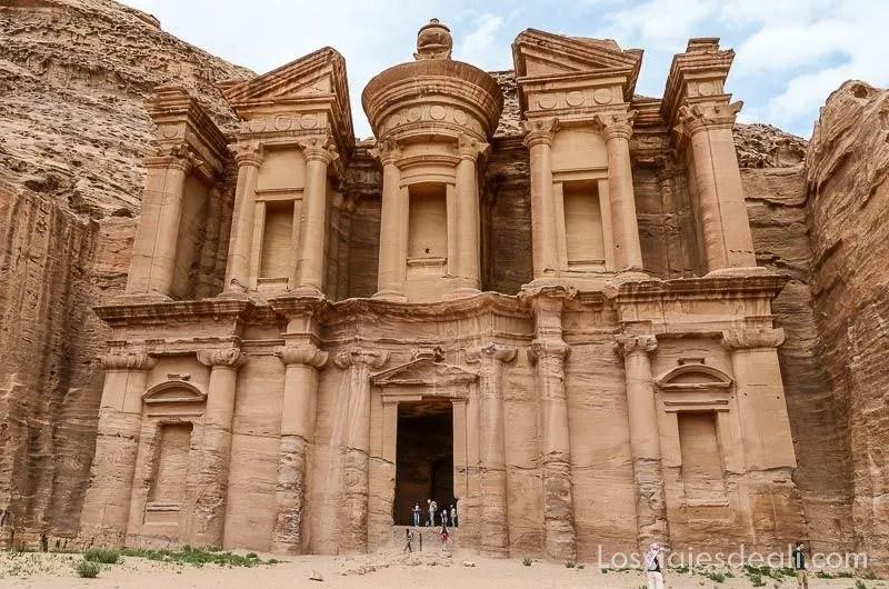 monasterio de petra en jordania