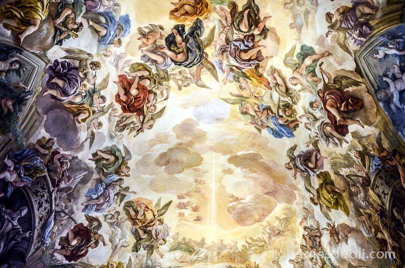 tres culturas de toledo catedral frescos giordano