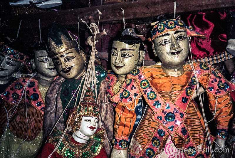 myanmar mandalay marionetas