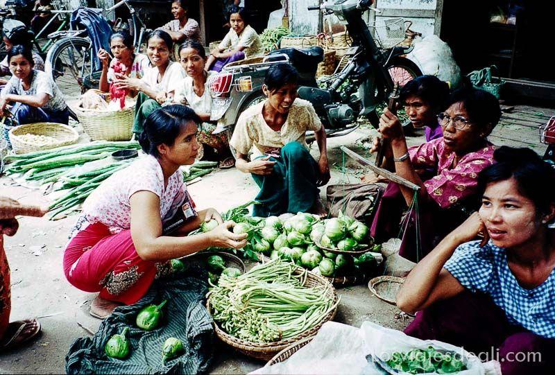 myanmar pakoku mercado birmania