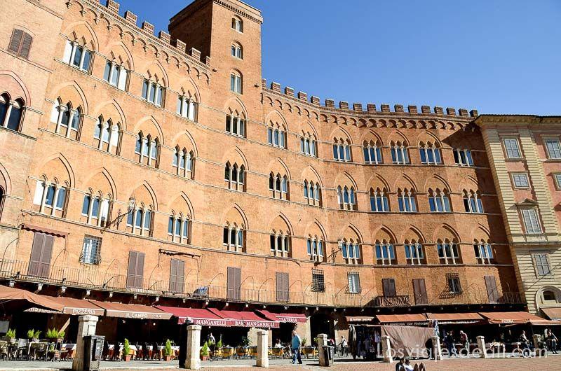 palazzo de piazza do campo siena