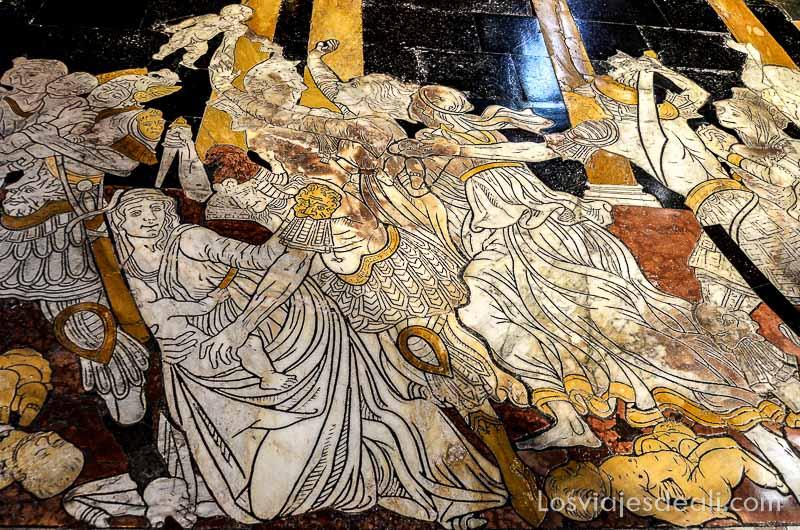 toscana siena suelos de la catedral