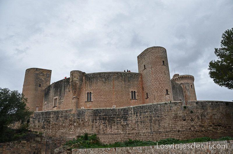 castillo bellver palma de mallorca monumental_