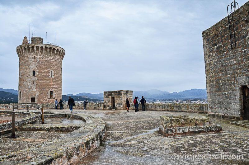 palma de mallorca monumental castillo bellver