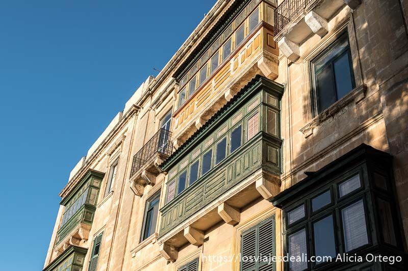 balcones de La Valeta