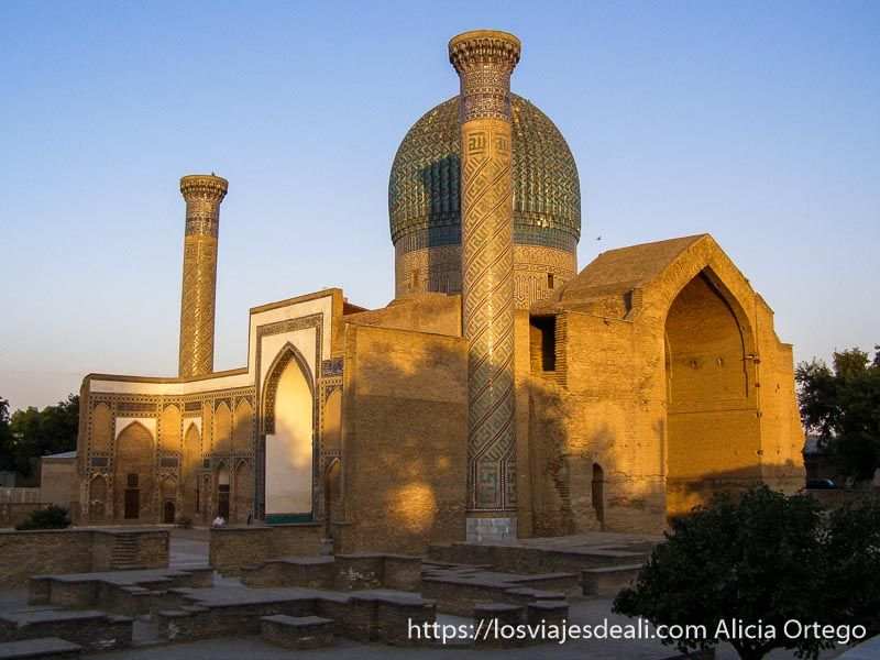 mausoleo de Gur e Amir en Samarcanda
