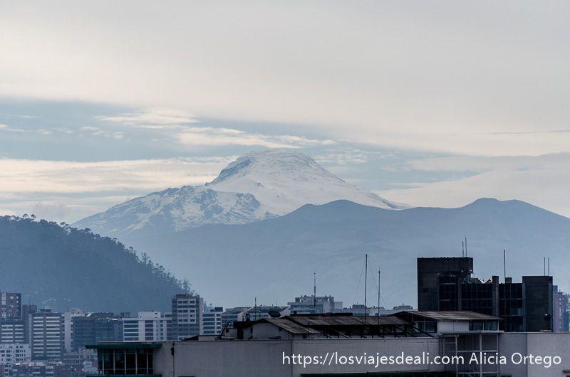 dos días en quito volcan