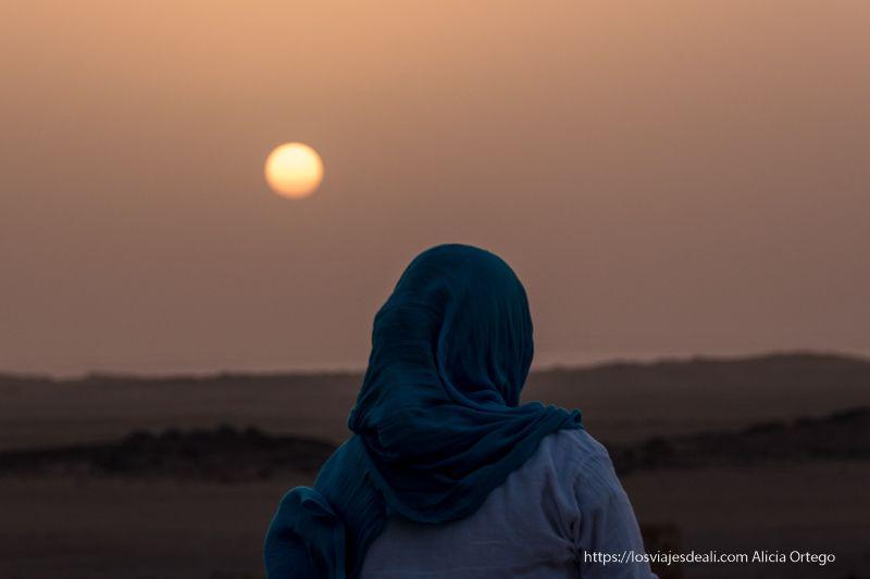 guía de viaje a Sudán puesta de sol en Soleb