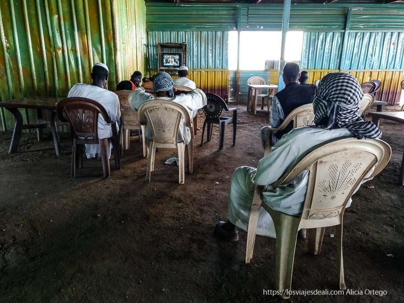 bar de carretera de Sudán