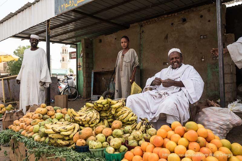 primer día en Sudán encuentros