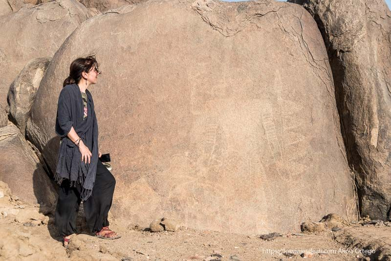arte ruprestre en Sudán