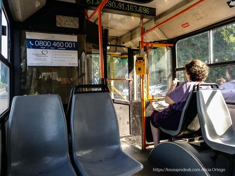 autobús urbano de Bucarest