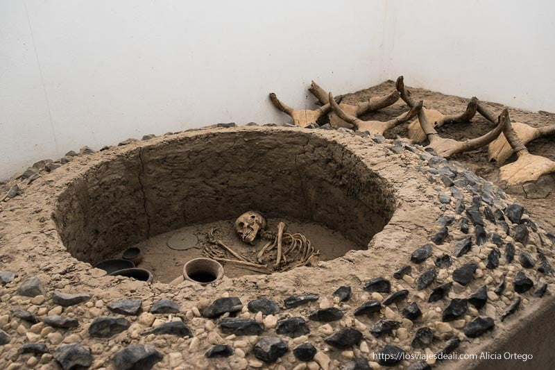 enterramiento de la antigua civilización de kerma en Sudán