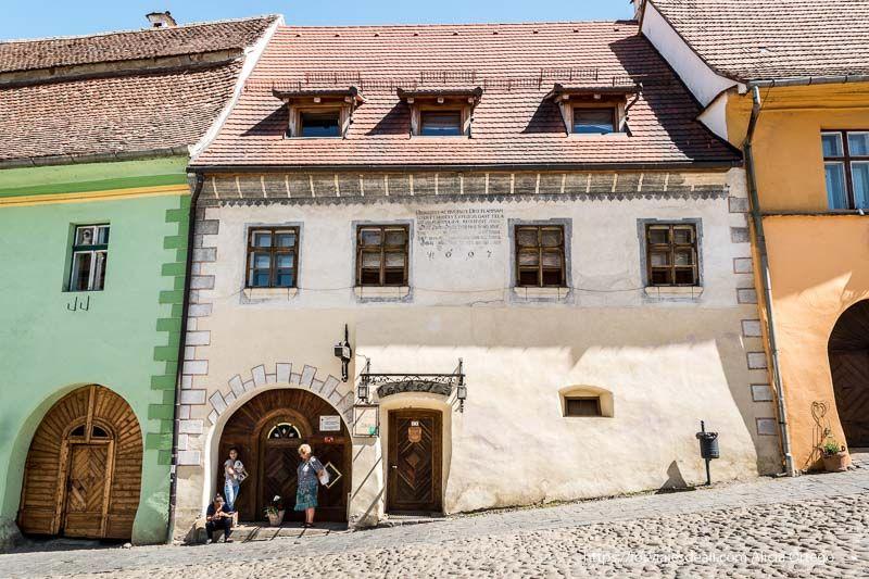 casas de colores de Sighisoara primeras impresiones de un viaje a transilvania