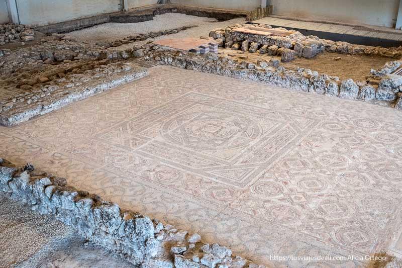 gran mosaico de la dehesa soria romana