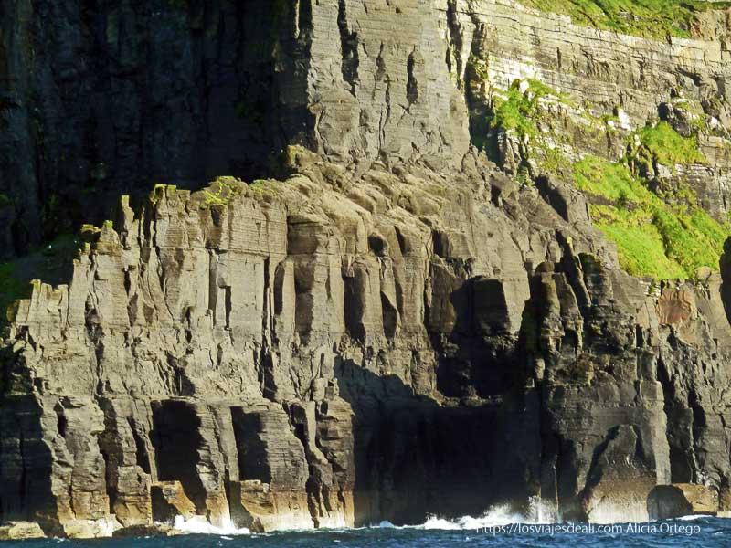 acantilados de moher desde el mar