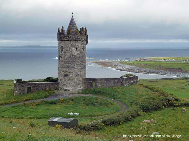 castillo junto al mar el burren terminando 2012
