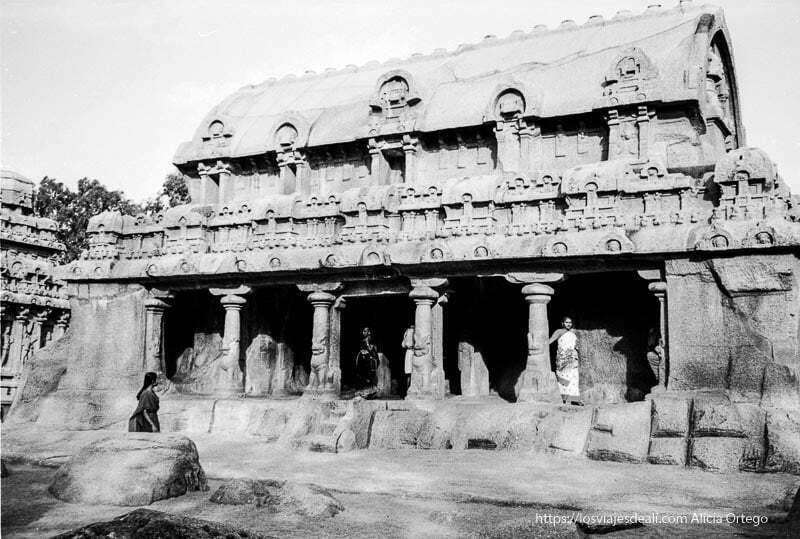 templo de piedra en mamallapuram tamil nadu