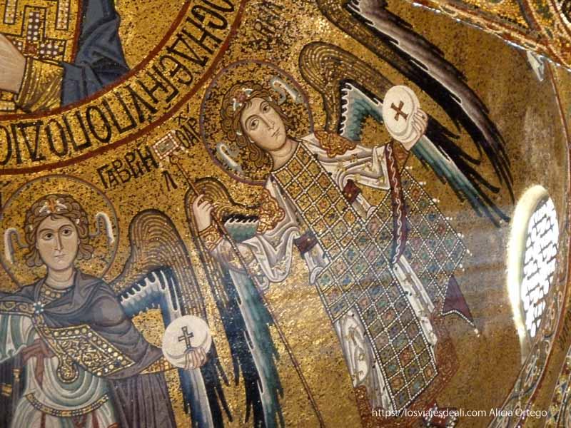 mosaicos bizantinos con fondo de oro qué ver en palermo