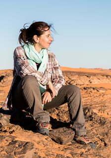 ali en el desierto