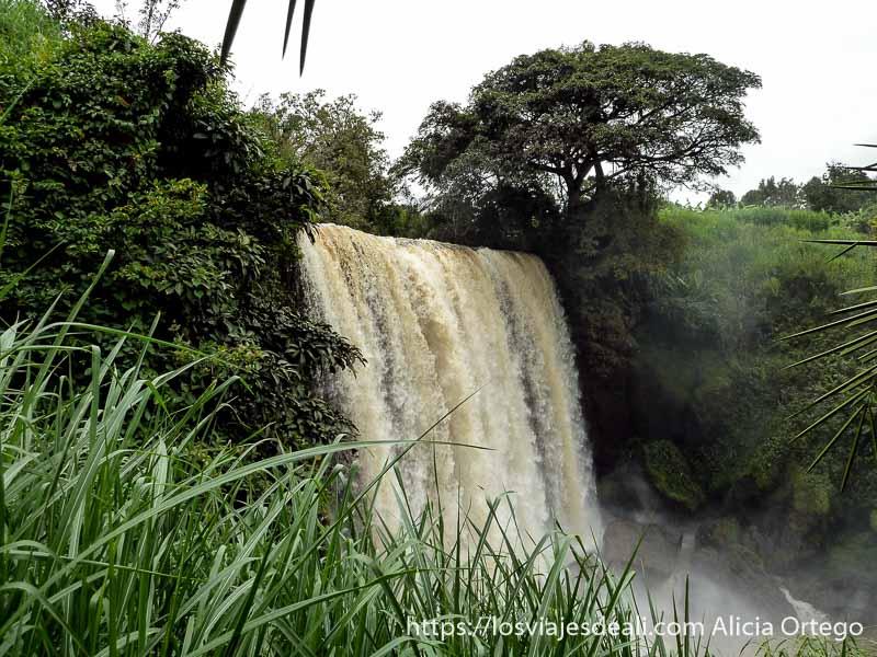 cascada de Metche cerca de Bamenda