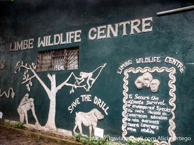 entrada del Limbe Wildlife Centre