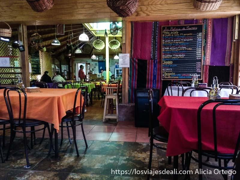 restaurante de San Pedro atacama